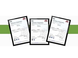 Greene Fire is now certified to ISO 9001, ISO 14001 and AS/NZS 4801