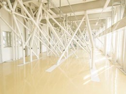 Flowshield SL epoxy flooring system installed in Bakhresa's Durban flour mill production area