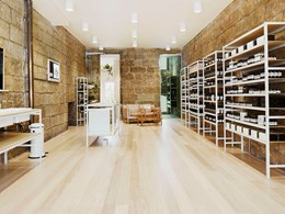 Aesop's stores show sustainability can be found in simplicity
