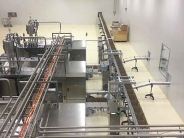 Bannister Downs Dairy Farm creamery where Flowfresh SR flooring was installed