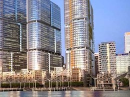 Verosol solar control fabric contributes to 6 Star Green Star rating for Barangaroo Tower 3