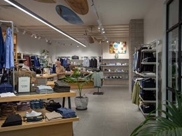 LightBeton brings true concrete look to shelving at new Barkers store