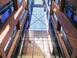 EBSA double glazed louvre system features in sustainable Sydney office