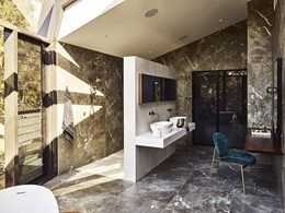 Corian®  award winning bathroom renovation
