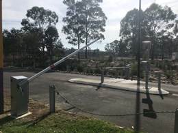 Bayt 980 boom gates providing vandal proof security to Western Sydney Parklands