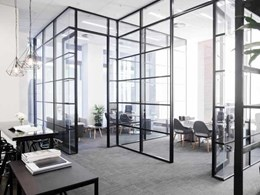 Criterion's Platinum 90 partitioning suite specified for Melbourne property development office fitout