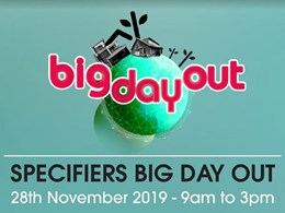 Weathertex's exclusive Specifiers Big Day Out on 28 November