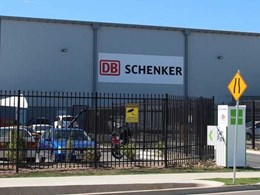 SecuraTop crushed spear security fence secures DB Schenker's QLD logistics business