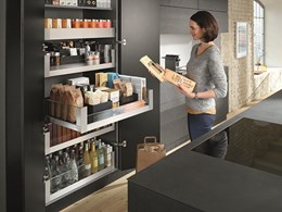 Practical cabinet solutions by Blum