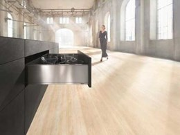 Blum introduces LEGRABOX pure box system featuring new runner technology and a slim design