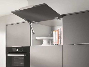 Blum S Aventos Hk Xs Compact Stay Lift For Wall Cabinets Architecture And Design