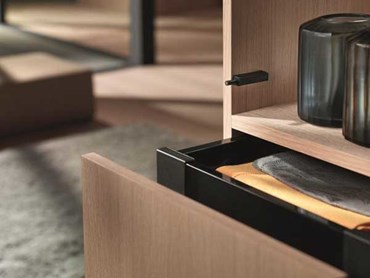 Blum S New Tip On System Offering Flexible Options For Handle Less Doors And Stay Lifts