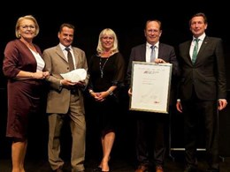 Blum honoured with Austria's top export prize