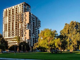 Spectacular brick inlay façade meets design brief at Adelaide apartments
