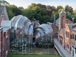 EnduroShield's easy clean nanotechnology protects UK gin distillery's botanical greenhouse glass