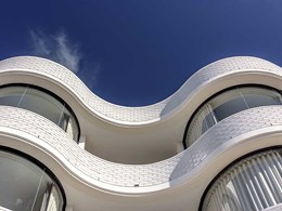 Curved glass brings architect's vision to life at Bondi Beach apartments