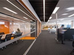 modulyss carpet tiles create a flexible, inspiring workspace at Bosch Australia HQ