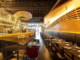 Briggs Veneers features in award-winning Sydney restaurant's interior