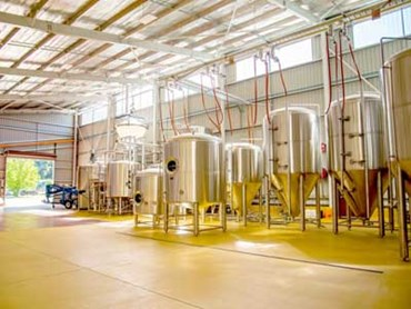 Bright Brewery constructed a new purpose designed and built brewing facility in Victoria