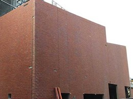 Red Rustic brick facing tiles help Brimbank Community Centre blend into neighbourhood architecture