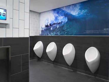 Brisbane Airport International Terminal's bathrooms
