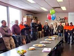 Safetech's first staff member completes 30 years of service