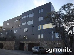 Symonite HD panels on Buller Central Hotel façade feature bronze aluminium veneer