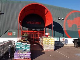 ATDC security door deters potential break-and-entry at Bunnings Perth