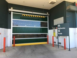DMF rapid roll door ensuring better function at busy Bunnings location