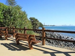 Million-dollar Burleigh Head walking track revamp features CCS coloured concrete