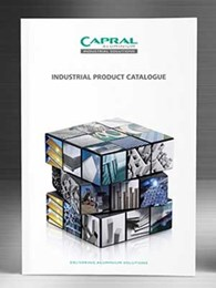 New Capral Industrial Product Catalogue featuring stocked products by location