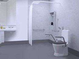Ergonomic, aesthetic and safe: Enware's CARE601 toilet suite