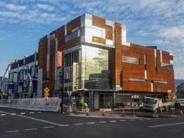 Mammoth soffit panels provide thermal-acoustic treatment at University of Wollongong's iAccelerate building