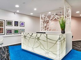 Signature's Botanica Carpet balances bold colour and texture at Perth neuro centre