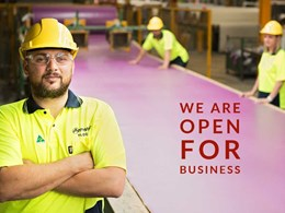 A message for Armstrong Flooring customers: We are open for business