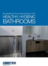Balancing style & functionality for: Healthy, hygienic bathrooms