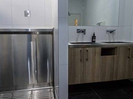 Balancing style and functionality for healthy, hygienic bathrooms
