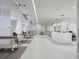 Studco concealed ceiling system installed at Cabrini Hospital