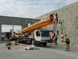Wallandra supplies 27 tonnes of steel for Penrith warehouse
