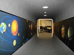 Case Study: Vibrant Wilsonart laminated wall murals take Canberra school students on a space journey