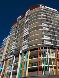 Apartments in Brisbane's West End provide the perfect Canvas for Taubmans' paints