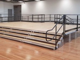 Working with architects on custom Made in Australia stage solutions