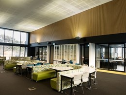 DecorEagle acoustic panels deliver spectacular design outcomes at STEM learning centre