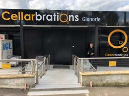 ATDC's security shutters protect new Cellarbrations Glenorie store