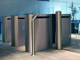 Preventing unauthorised entry at Melbourne office building with Centurion EasyGate entry barriers