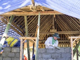 USG Boral employees pitch in to build homes for Indonesian underprivileged families