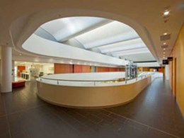 Rondo ceiling and wall systems overcome design challenges at $220 million Charles Perkins Centre in Sydney