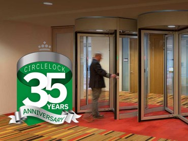 Boon Edam's Circlelock high security portals are celebrating their 35th anniversary this year