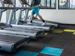 Hardwearing carpet tiles complement styling and design at recreation centre