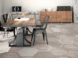 Academy Tiles releases Cocciopesto Hexagon series for walls and floors